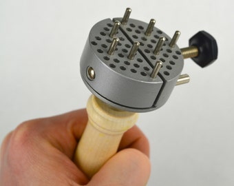 Universal Work Holder Peg Clamp Jewelers Hand Held Vise Jewelry Engraving Tool