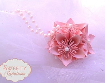 Flower origami ball / kusudama
