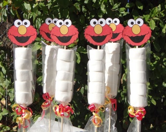 Elmo Marshmallows Party Favors