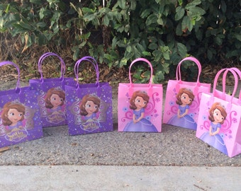 12 Disney Princess Sofia the First Favor Bags