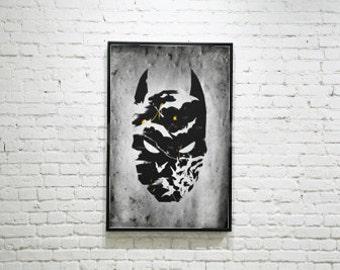 11x17 Dark Knight Poster Print