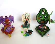 Three Wonderful Rare Larger Mighty Max  - Rare - Collector Item /MEMsArtShop.