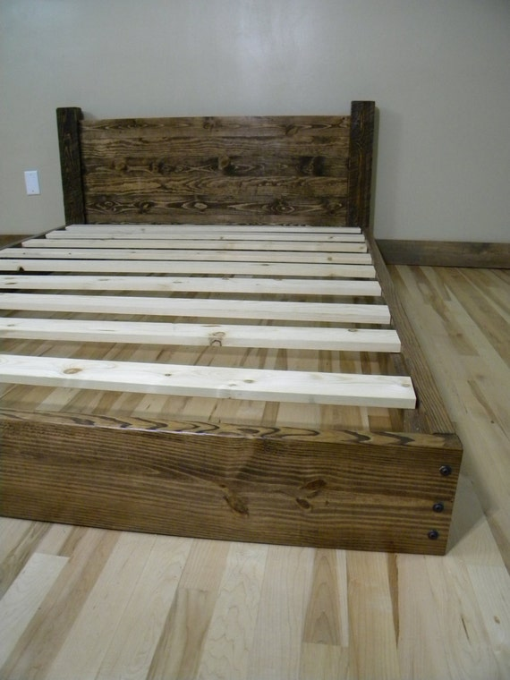 diy solid wood twin bed for under 50