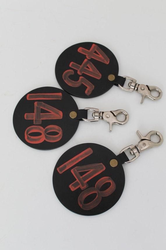 Large hotel room key holder vintage by shopkeeparlington on etsy - Vintage hotel key rack ...