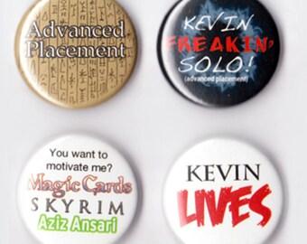 Supernatural Kevin Tran Badges