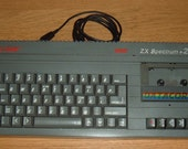 Sinclair ZX Spectrum + 2 USB Keyboard