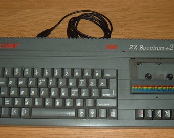 Sinclair ZX Spectrum + 2 USB Keyboard