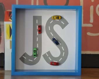 Personalised Car Theme Children's Decor