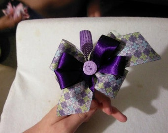 mini boutique bow headband