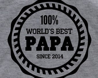 Papa shirt  grandpa shirt daddy shirt  Personalized t shirt father's day gift awesome dad new dad shirt Christmas gift father gift