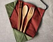 Chopsticks Spoon and Fork Set