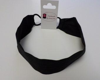 Handmade Hair Accessories Black Headband Women Headband Girls Headband No-slip Headband