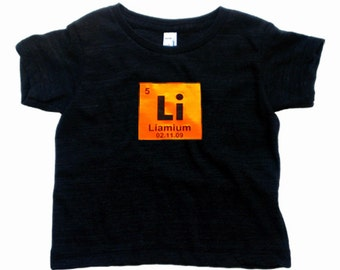 Popular items for periodic table shirt on etsy for Custom periodic table t shirts