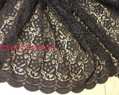 47 inches width Classic Venice Lace Fabric For Handmade Or DIY Dresses, Bags half yard
