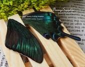 10pcs real butterfly wings,Real Dried Moth butterflies for ring/earrings/bracelet/brooch butterfly necklace/butterfly jewelry(Bf007)