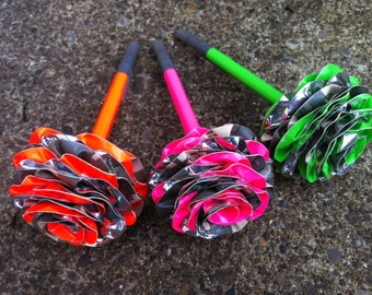 Set of 3 Duct Tape Camo Pen Bouquet