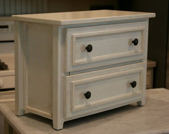 2-Drawer Table/Countertop Chest