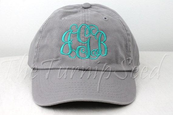 hat monogram machine