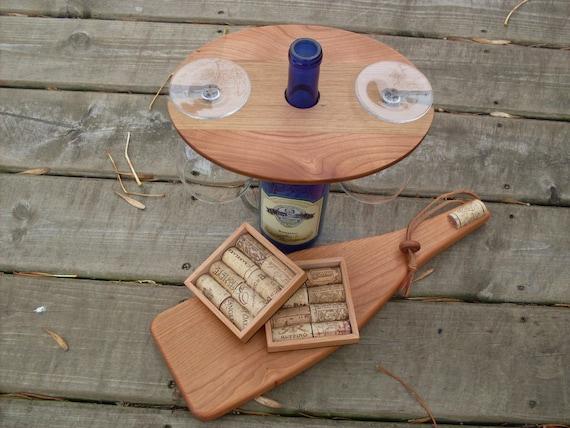 Wine Glass Cheese Board Cheese Board With Wine Glass