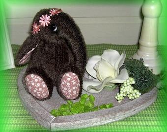 Baby Elephant Luna/ Pattern 18cm