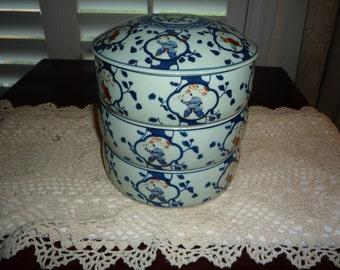 Oriental Stacking Bowls