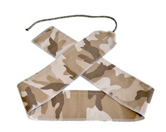 Desert Camo - Weight Lifting Wrist Wraps