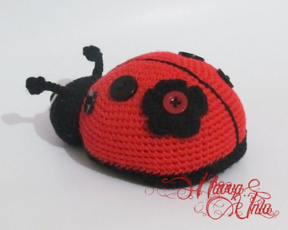 PATTERN Ladybug Crochet Amigurumi by HavvaDesigns on Etsy