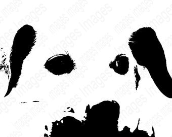 Dog Black and White Digital Images for Instant Download   Add to T Shirts Jackets Posters Coffee Mugs for Holiday gifts Commercial Use