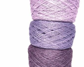 3 Balls Linen Yarn, High Quality, Linen Yarn, Linen Yarn For Crochet, Knitting, 300 g/ 10.5 oz