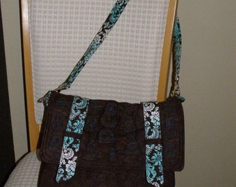 Urban Sling Purse, made to order. You pick the colors you like, or the fabric theme or pattern you want.