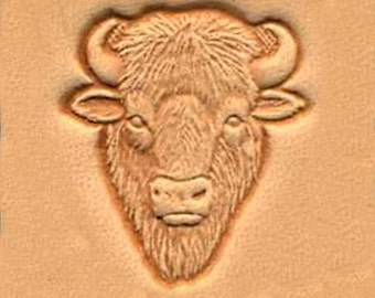 Buffalo Head Leather Stamp Tool