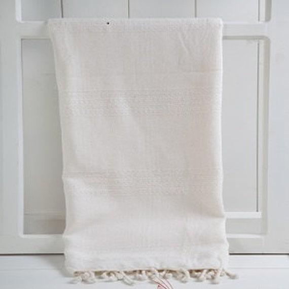 Travel Towel Bamboo: Hand-woven 100% Bamboo Turkish Towel Peshtemal Cover Up