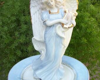 Blue Angel Garden Stake