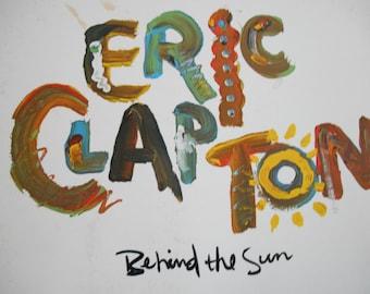 Eric Clapton - Behind The Sun- vinyl record
