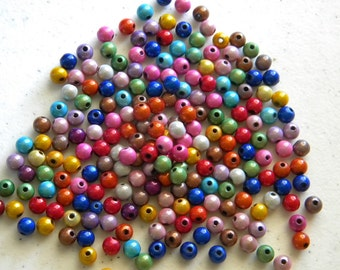 50 Round Miracle Beads - 6mm