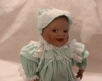 Yolanda Bello Shawna African American Porcelain Doll