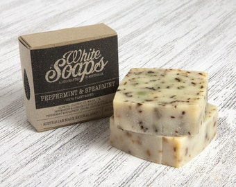 Peppermint and Spearmint Soap