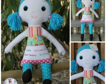 Don't Worry Doll PDF Pattern