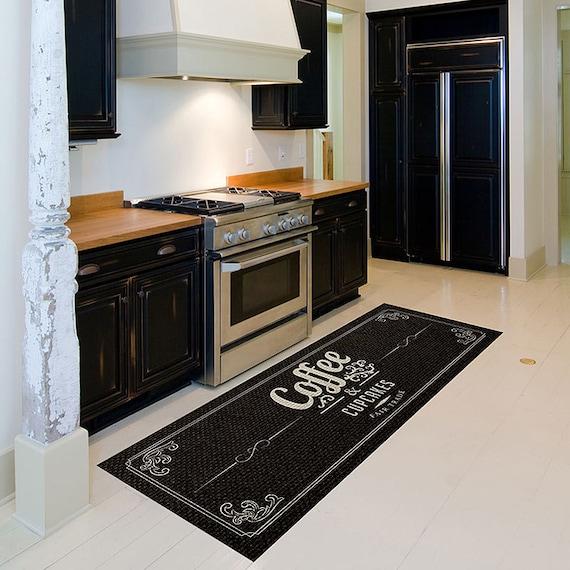 Items Similar To Coffee- Runner Rug, Coffe Bath Mat, Floor