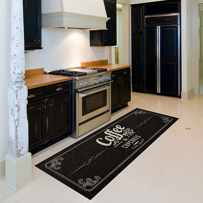 chef kitchen floor mats - wood floors
