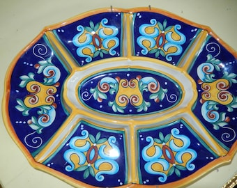 ITALY DERUTA PLATE Wall Hanging