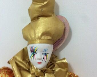 Jester Clown Doll