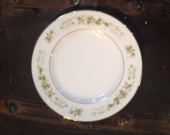 Vintage NATALIE Fine China Japan 3904 Bread & Butter Plate 7 3/4""