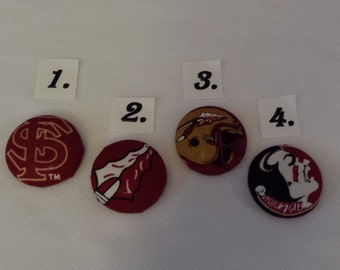 NCAA FSU Decorated Swivel Badge Reels