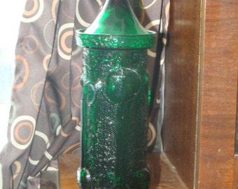 Mid Century Modern Wayne Husted Art Glass for Stelvia Apothecary or Candy jar PeeDee ItalyArt