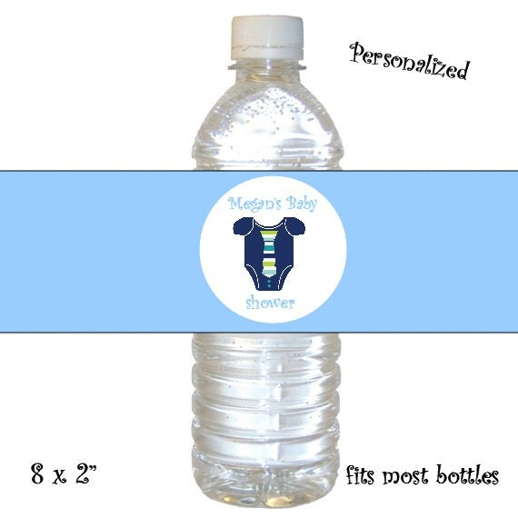 Items Similar To Personalized Baby Boy Little Man Shower