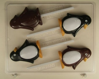 Penguin lollipops C167