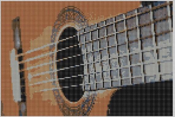 Guitar String Pattern : guitar strings cross stitch pattern ~ Hamham.info Haus und Dekorationen