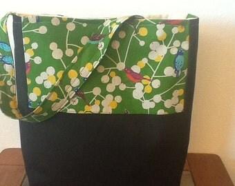 Berry Birds Shoulder Bag