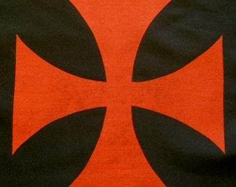 Maltese Cross Quilting Applique Pattern Design (easy)
